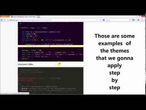How to add / Change Themes, Syntax highlighting in Code :: Blocks Text Editor C, C++ in Windows OS