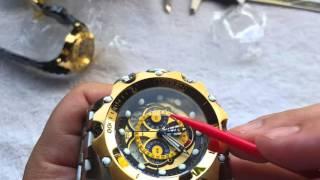 d7d872cb55f Relógio invicta venom hybrid referência 16807 na altarelojoaria cronógrafo  suiço