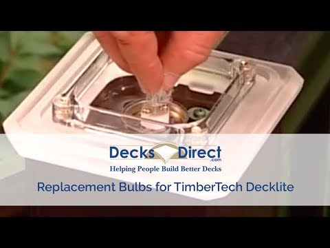 Replacement Bulbs for TimberTech Decklites