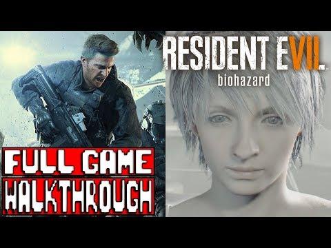 RESIDENT EVIL 7 Not a Hero & End of Zoe FULL GAME Walkthrough