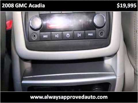 2008 GMC Acadia Used Cars Spokane Valley WA