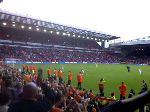 Liverpool 1 Blackpool 2 after the match
