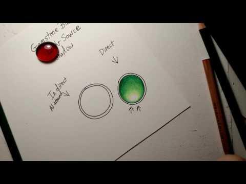 Gemstone Basics with Colored Pencils
