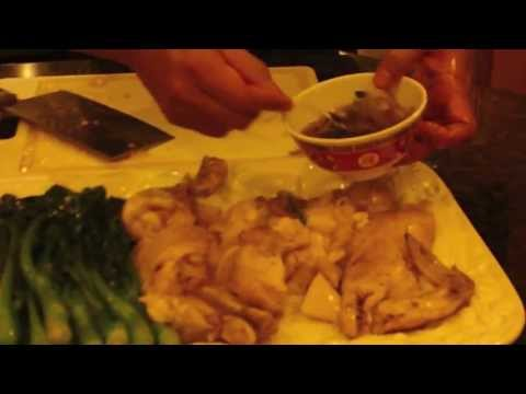 How to make chinese steamed chicken with ginger and green onion sauce