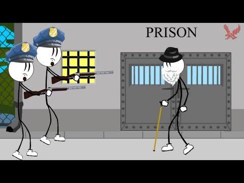 Stickman Jailbreak 7 Gameplay - Old Stickman Escape