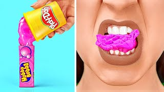 FUNNY PRANKS FOR BACK TO SCHOOL USING SCHOOL SUPPLIES    Prank Challenge by 123 GO! SCHOOL