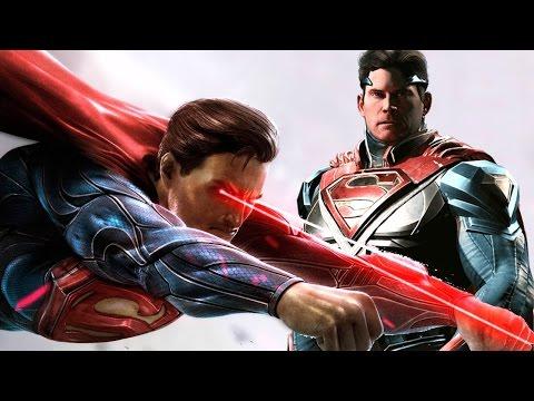 SUPERMAN VS SUPERMAN, A BATALHA FINAL ÉPICA #7 Injustice Gods Among Us
