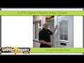 How To Toe and Heal A Upvc Door