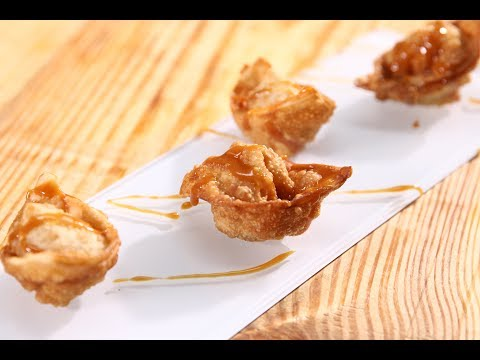 Apple Wontons | Apple Tasty Delight | Chef Anupa | Sanjeev Kapoor Khazana