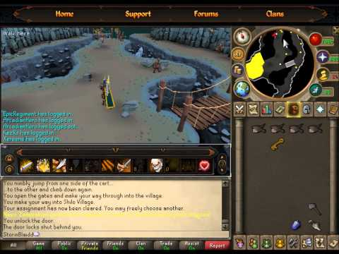 Runesacpe how to get the dusty key eoc