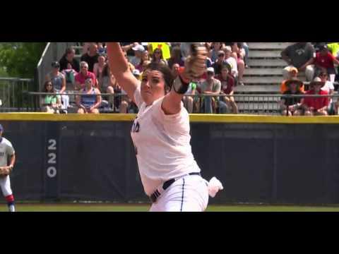 Lauren Haeger WCWS Game 1 Riseball