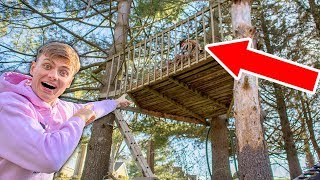 EXPLORING ABANDONED TREEHOUSE!! (DELETED VIDEO)