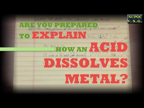 NUPOC VSG #85 - How Does an Acid Dissolve Metal?