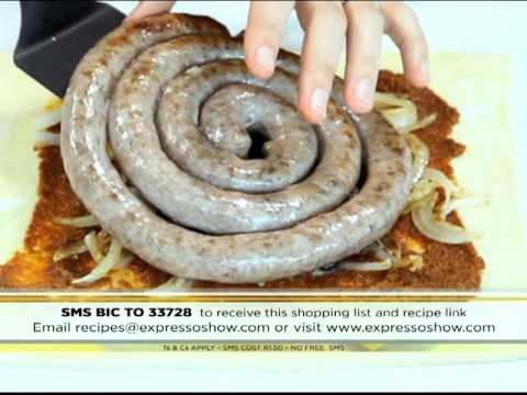 BIC: Boerewors braaibroodjie pie