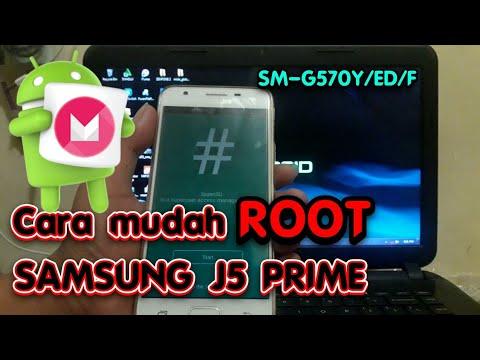 Cara mudah ROOT SAMSUNG J5 PRIME android 6.0.1 marsmellow