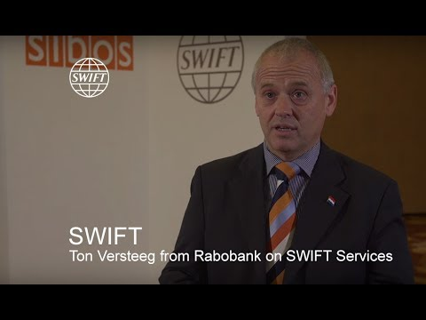 Ton Versteeg from Rabobank on SWIFT Services