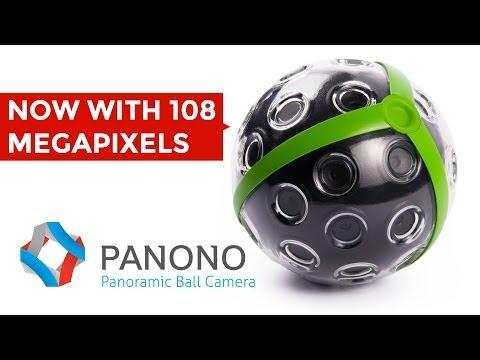أول كاميرا كروية تصور البانورامى 360 درجة