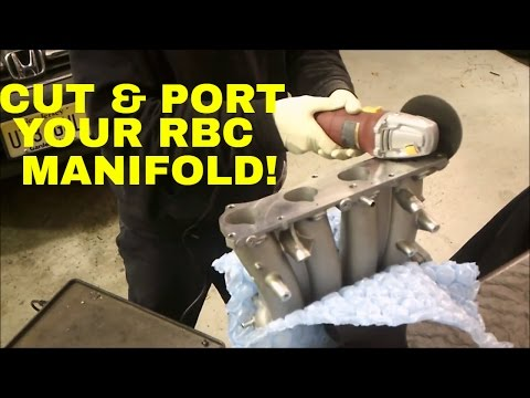 HOW TO CUT AND PORT AN RBC MANIFOLD!