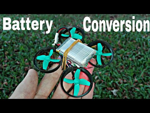 How to convert a Furibee F36 to use any one cell battery. ( diy drone upgrades)