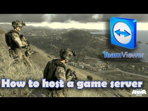 How to setup a game server with teamviewer for almost every game (no hamachi or portforwarding)