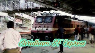 Shridham SF Express Arriving Habibganj-Bhopal