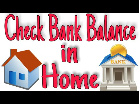 Bank balance check | In Home || Any Bank || All Bank Option available || Hindi ||