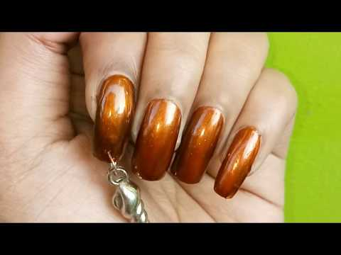 How To dangle Your Favourite Jewelry in Nails - Nail Piercing Tutorial