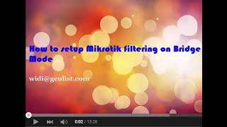 MikroTik Disable Loop IP And Invalid Loops & Blocking It's