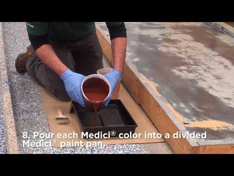 Rust-Oleum Industrial- Flooring Application- Medici