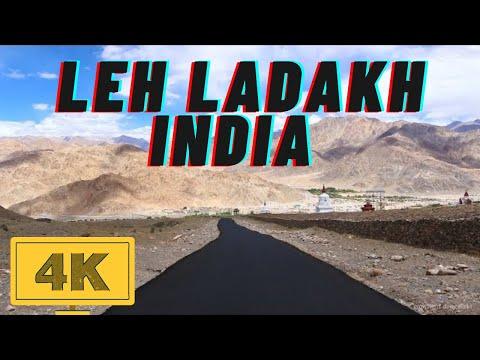 Ladakh in 4K | India's Top Tourist Destination