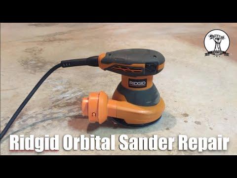 Ridgid Orbital Sander Repair - Sander Will Not Turn On