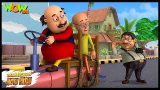 Motu Patlu New Episodes | Cartoons | Kids TV Shows | John Ka Gas Cylinder | Wow Kidz