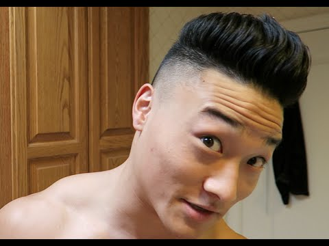 How I Cut My Own Hair - Men's Ultra Beautiful Disconnected Taper/Fade Tytanium Haircut Tutorial