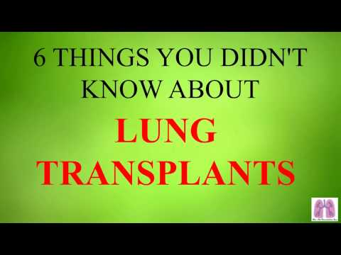 6 Things You Didn't Know About Lung Transplants
