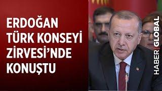 Erdoğan Bakü'de Türk Konseyi Zirvesi'nde Konuştu