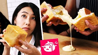 I Tried To Re-Create This Cheesy Bread Cube •Eating Your Feed •Tasty