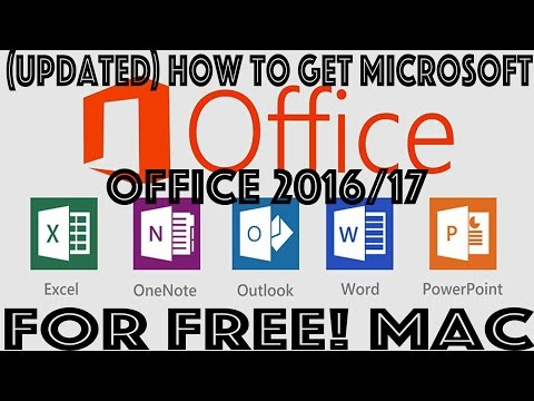 (100% WORKING) How to get Microsoft Office for Free! Mac