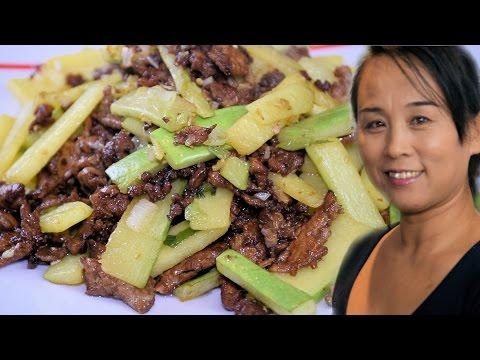 Pork & Vegetable Stir-Fry Recipe (Chinese Style Cooking Recipe)