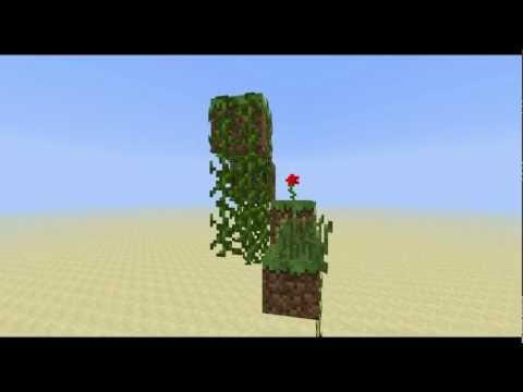 Minecraft: Plant growing in minecraft 2