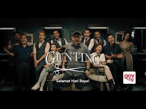#GuntingTheSeries Hari Raya Greetings