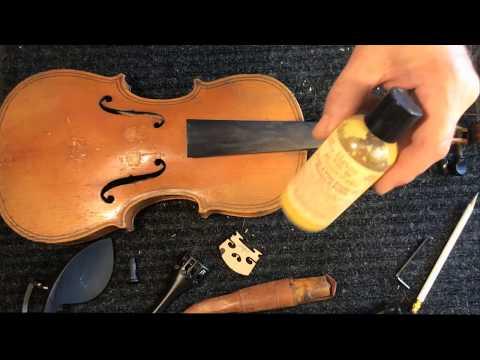 Polishing an Old Violin