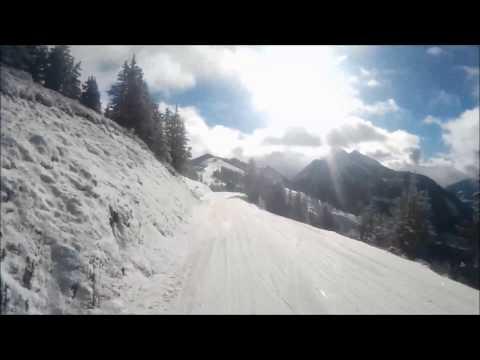Skifahrt im Winterurlaub + Panoramaaussicht !!!