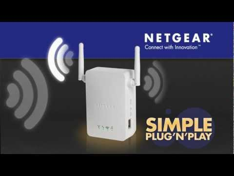 Netgear WN3000RP Wi-Fi Range Extender