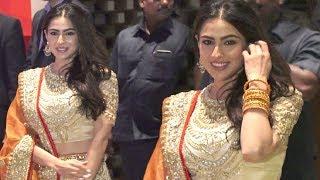Sara Ali Khan At Akash Ambani And Shloka Mehta Engagement Party
