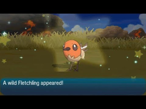 LIVE! Shiny Fletchling in Wela Volcano Park after 7,041 RE's!