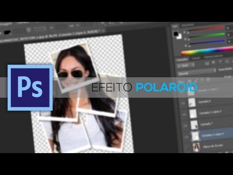 Tutorial - Como fazer o efeito POLAROID no PHOTOSHOP CS6