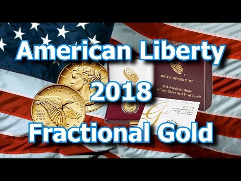 US Mint Releases 1/10th oz Gold American Liberty Proof Coins