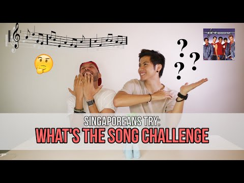 Singaporeans Try: What's The Song Challenge (feat. THELIONCITYBOY & Benjamin Kheng) | EP 60