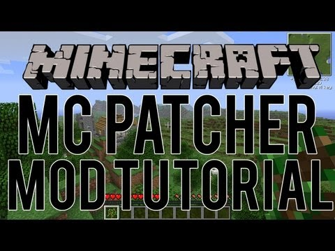 How to Install Minecraft Mods using MCPatcher (Outdated)