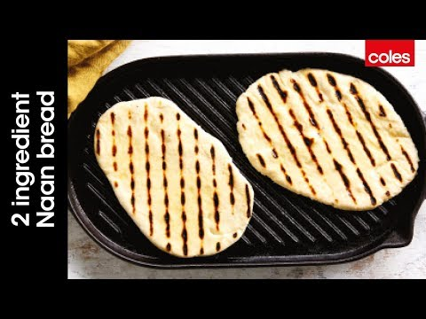How to make 2 ingredient naan bread